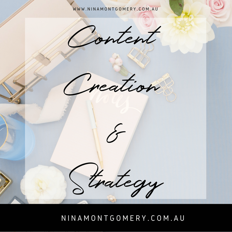 Content creation and strategy for online business owners