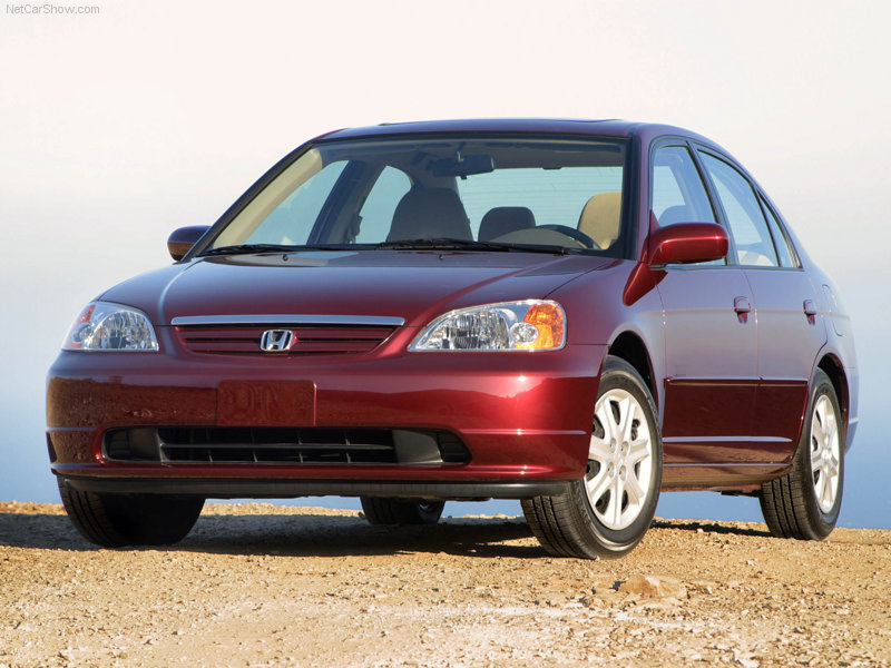 Honda Civic 2001 Red