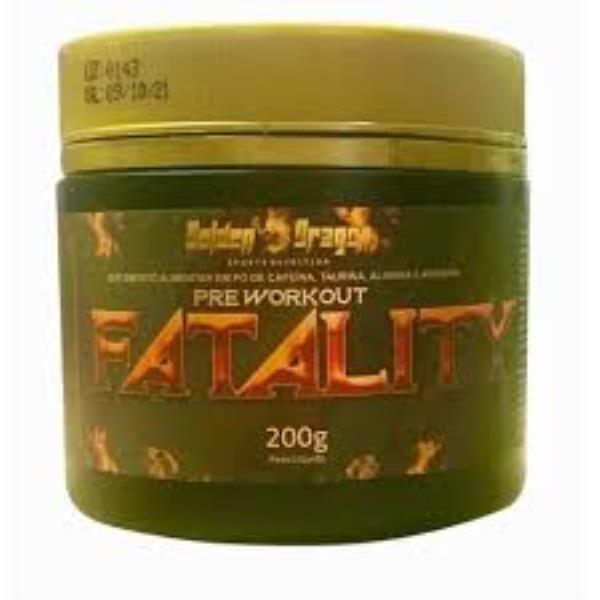 Fatality - 200g - Golden Dragon - Sabor: Melancia