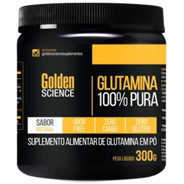 Glutamina - 300g - Golden Science