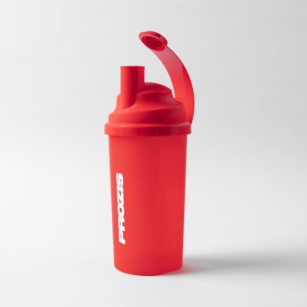 Coqueleteira Shaker 700ml - Prozis -  3 em 1 -Your Limit Is You - Vermelho