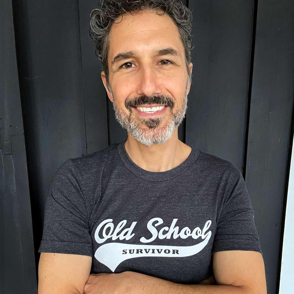 Old School Survivor - T-shirt