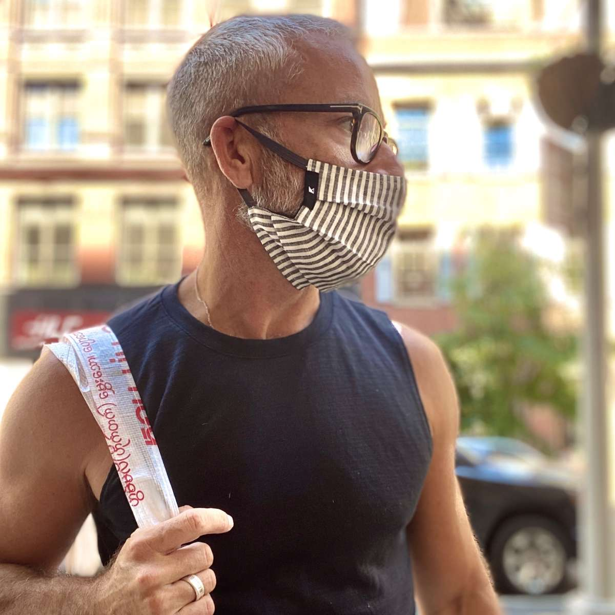 Shop this super functional and stylish mask by Kynsho