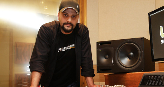 Photo of Dimitris Karpouzas @ Lizard Sound Studios