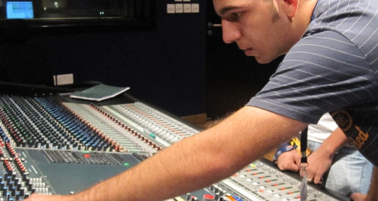 Photo of Recording and Mixing Engineer