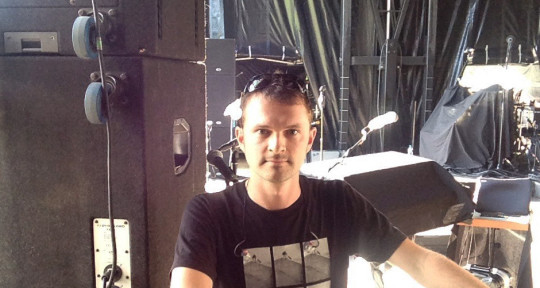 Live Sound Engineer - Guillaume DESBOIS