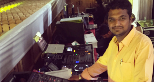 Live sound Mix engineer  - Vipul Jadhav