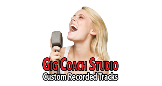 We record music for your songs - Gig Coach Studio Custom Tracks