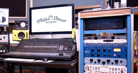 Recording, Mixing, Mastering - Miller Street Studios
