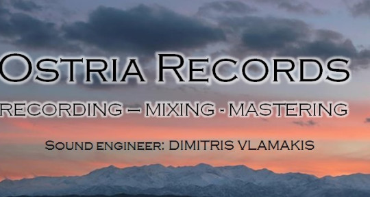 Recording,Mixing and Mastering - Ostria Records