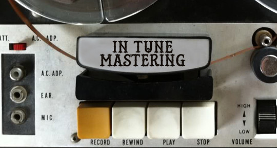 Remote Mixing and Mastering - In Tune Mastering