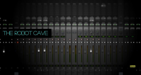 Recording Studio,session drums - The Robot Cave Audio Lab