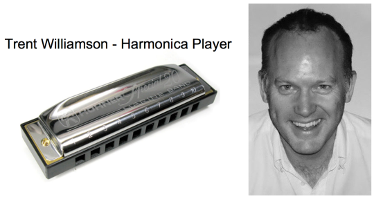 Session Harmonica Player  - Trent Williamson