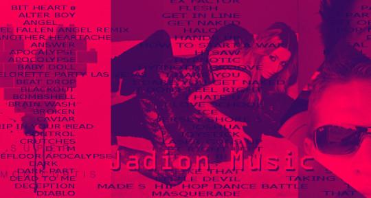 "Music producer, remixer, write - Jeff ""Jadion"" Wells"