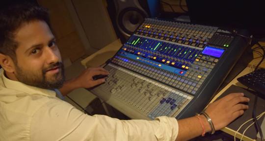 Mixing and Mastering Engineer  - KABIR SINGH BHOMRAH(Kay Bom)