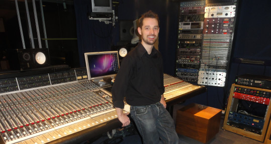 Photo of Edd Hartwell Sound Engineer