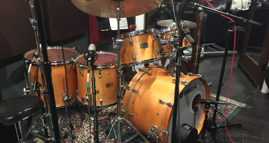Studio drum tracks - Jonathan Mele