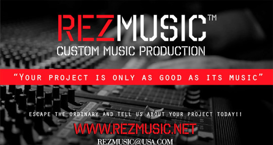 Custom Music Production - REZMUSIC™