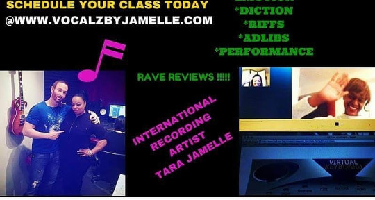 Vocal Beast!  - Tara Jamelle Jones