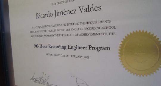 Voiceover Talent by Accident.  - Ricardo Jimenez
