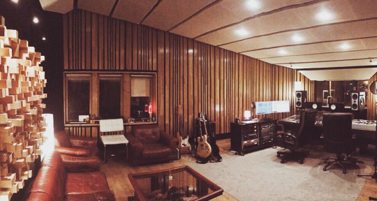 Photo of LVGNC recording studio