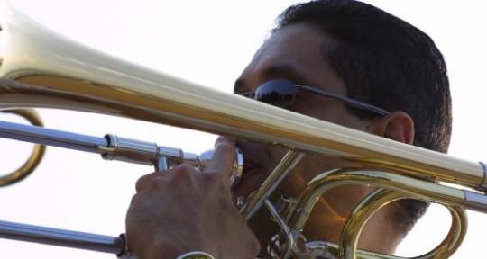 trombone studio recording - Pablo Santaella