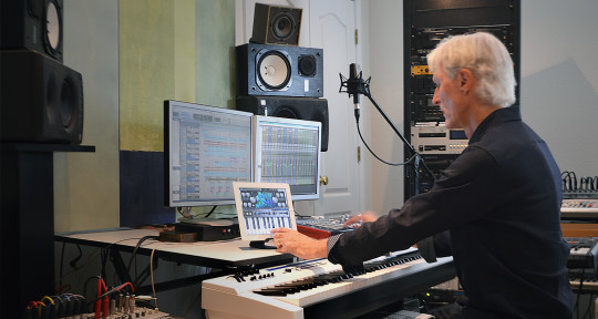 producer, musician, studio - Paul Harlyn