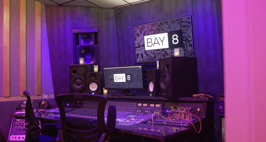 Recording Studio - Bay Eight Recording Studios
