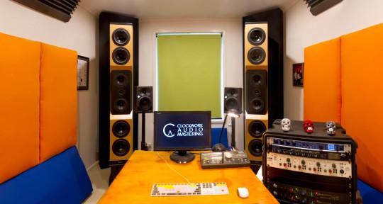 Audio Mastering studio - Clockwork Audio Mastering