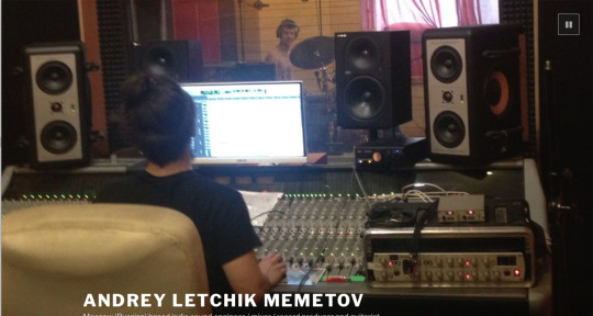 Recording / mixing / producer - Andrey Letchik