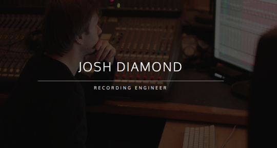 Photo of Josh Diamond - Recording Engineer
