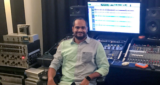 Audio Editor/ Mixing Engineer  - Shaddy Roman