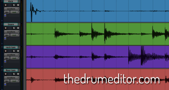 Drum Editing and Comping - The Drum Editor