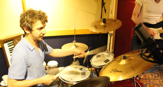 Live and studio drums.  - Lucas Crane