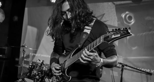 Session guitarist, composer - Arjyo Bala