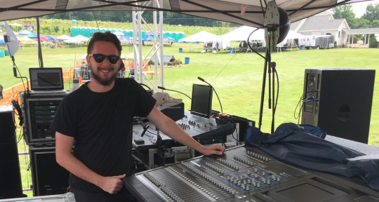 FOH/Monitor Engineer - Andrew Black