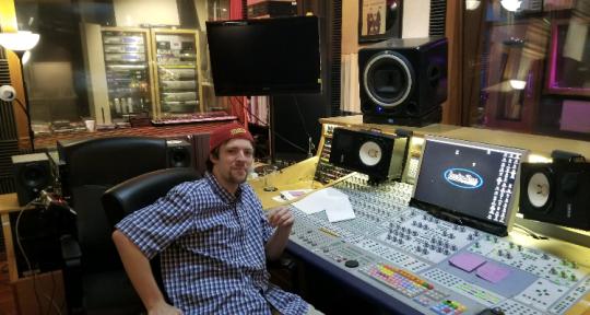 Recording/Mixing Engineer - Jakob Haggerty
