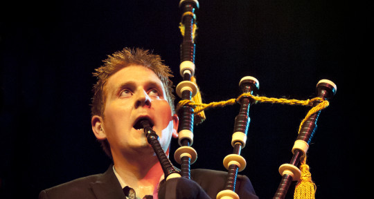 Bagpipes with no limits! - Lorne MacDougall