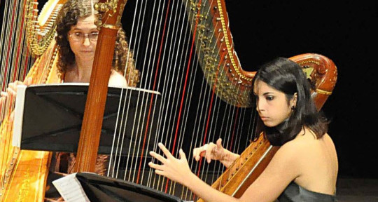 Session Harpist - Mercedes Bralo