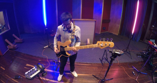 Recording Studio Bass Player - Rodrigo Tenjo