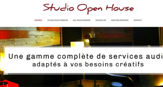 Studio d'enregistrement - Studio Open House