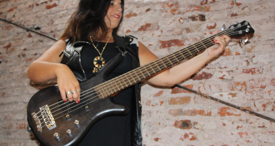 Bass player, Songwriter - Karina Auday