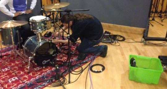 Photo of Dan Worrall Recording