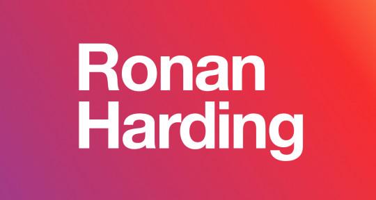 Professional indiepop vocalist - Ronan Harding