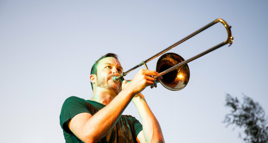 Trombone, Arranger, Beatboxer - Chris Ott