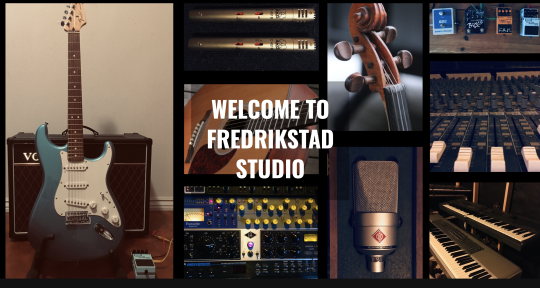 Music Production & Composing - FREDRIKSTAD STUDIO