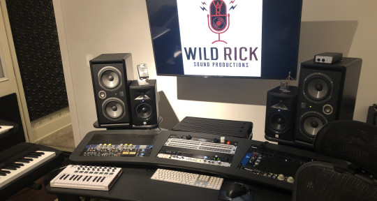 Recording, Mixing, & Mastering - Wild Rick Sound Productions