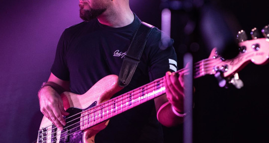 Session & Touring Bassist - Steph Orsini