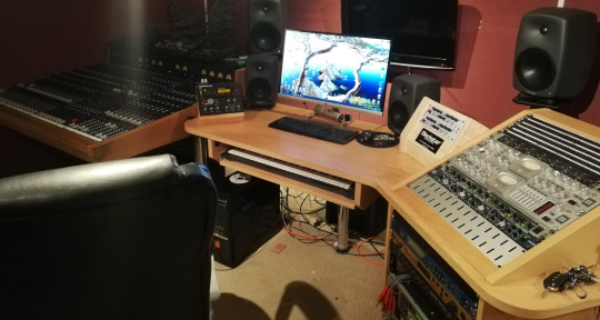 recording studio, engineer - James Urquhart Midimadness
