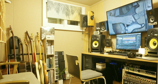 Mastering Studio with Bass - AMer9 Mastering Studio